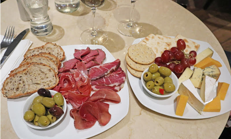 cheese and meat board elisse