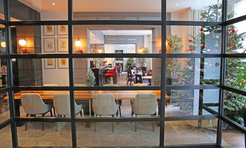 communal table lobby elisse nielson