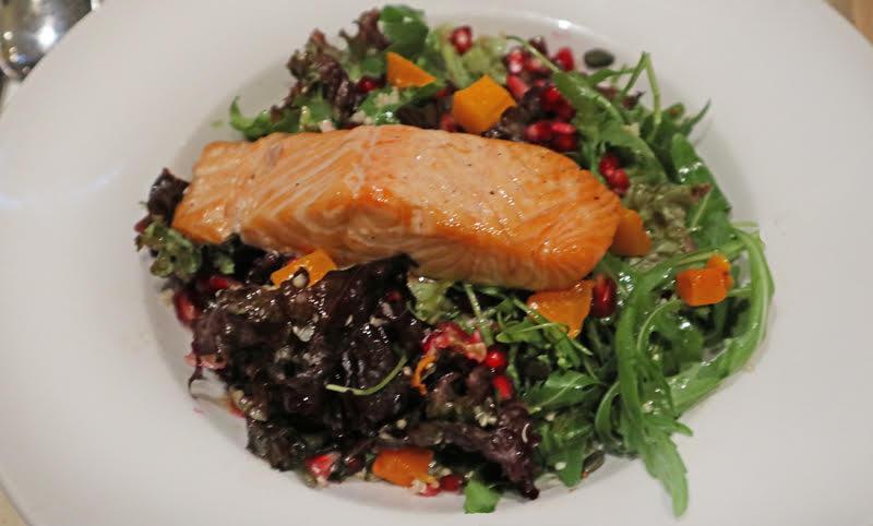 super food salad with salmon elisse